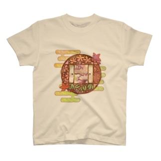 「舞庭」Series * 窓 Season's❀ T-shirts