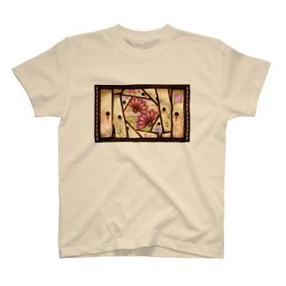 「舞庭」Series * 襖 Season's❀ T-shirts
