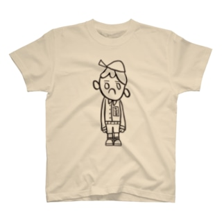 そぼふるそぼくん(モノクロ) T-shirts