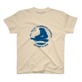 バック・トゥ・ザ・フューチャー/ホバーボード Tシャツ (ホワイト) T-shirts