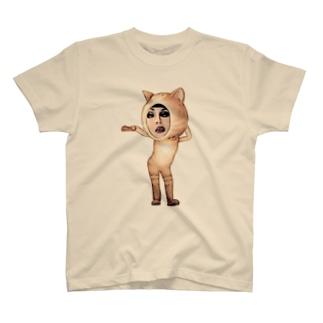 WATABO- LIFEのNaちゃん ニャンコバージョン T-shirts