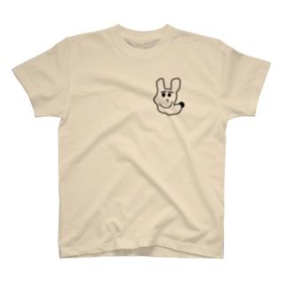 ハンサムないぬ T-shirts