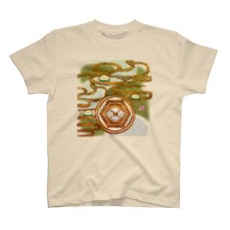 「舞庭」Series * river&lotus T-shirts