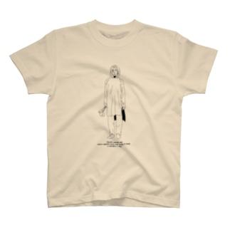 バスタオルの上からシャツを着てる T-shirts