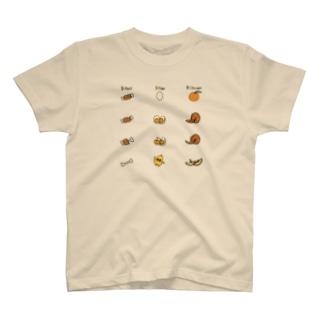 にくたまごおれんじカラー T-shirts