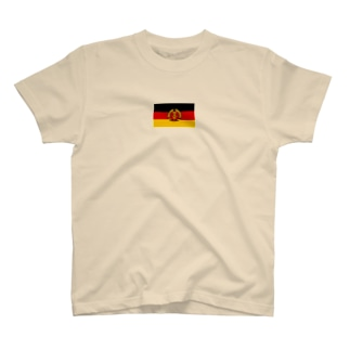 東ドイツ 国旗 T-shirts