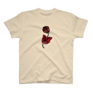 一輪の花 T-shirts