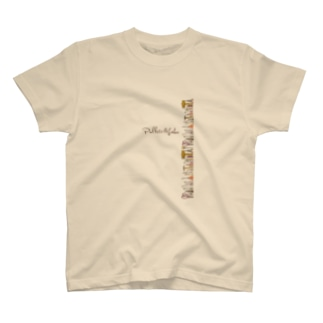 Pallete&Labo屋号オリジナルグッズ縦型カラー T-shirts