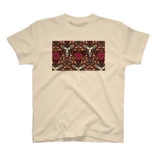 redplant mandala T-shirts