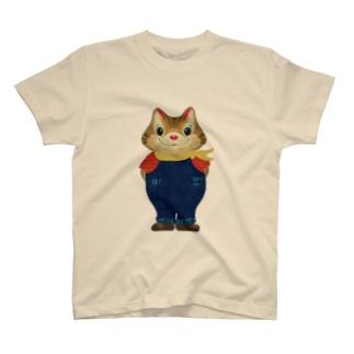 オーバーオールのトトラくん T-shirts