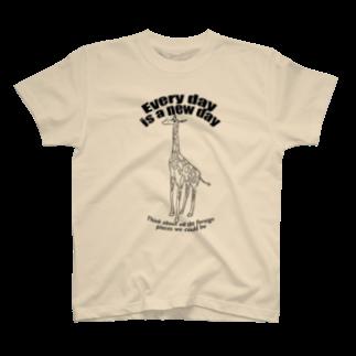 My designのGiraffe T-shirts