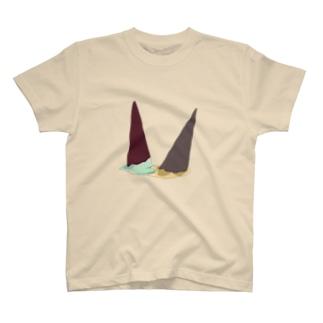 アイス死亡 T-shirts