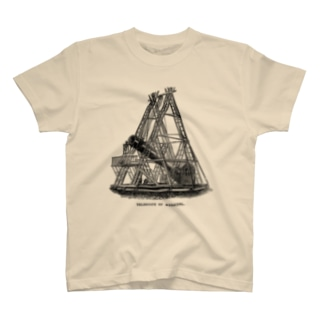 ハーシェルの望遠鏡 - The British Library T-shirts
