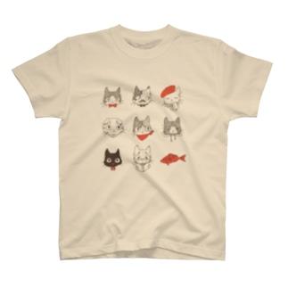 オシャレねこ Tシャツ
