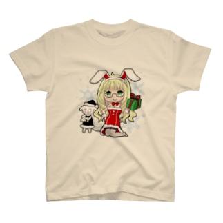 うさみみサンタの服 T-shirts