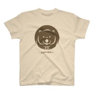 womdot【ウォンドット】/ソロ・立ち姿 T-shirts