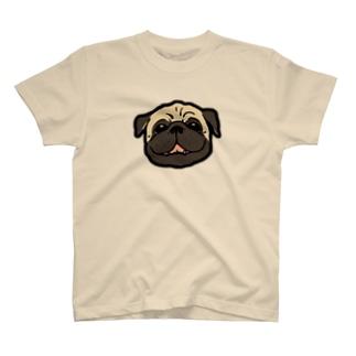 パグすまいる T-shirts