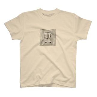 電車のドア(dance) T-shirts