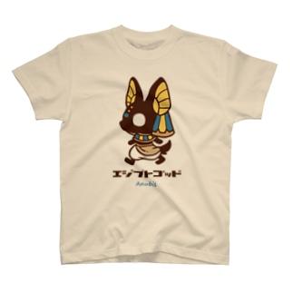 エジプトゴッドwithアヌビス T-shirts