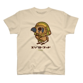 エジプトゴッドwithホルス T-shirts