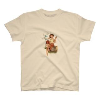 サロンガール T-shirts