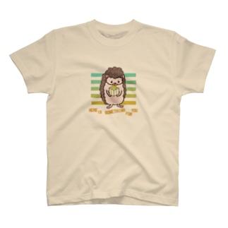 ハリネズミの贈り物 T-shirts
