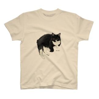 きなこのくろ T-shirts