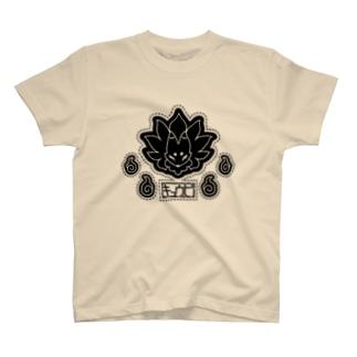九尾ロゴ T-shirts