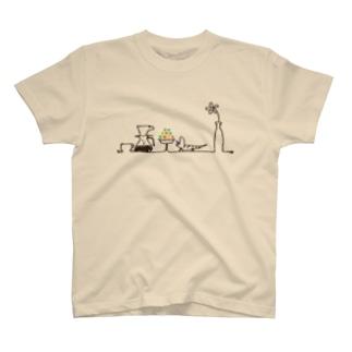 アオジタおやつのじかん T-shirts