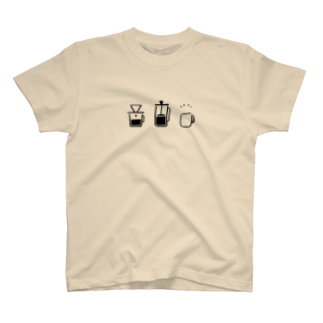 chooseのchoose coffee T-shirts