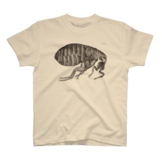 蚤(ノミ)の側面図 - Getty Search Gateway T-shirts