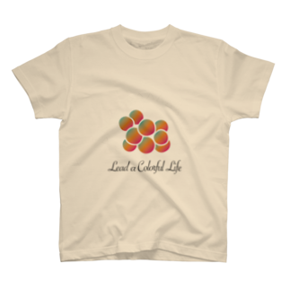 DEEPDRILLEDWELL@井戸の中のColorful Grapes T-shirts