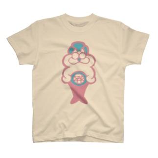 1234おにゃ道山 T-shirts