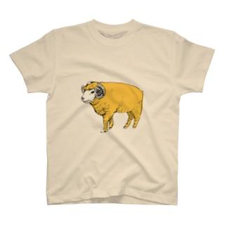 ひつじ Tシャツ