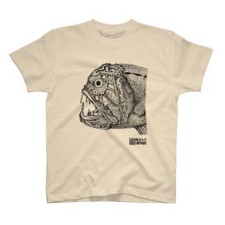 オニキンメ点描画 T-shirts