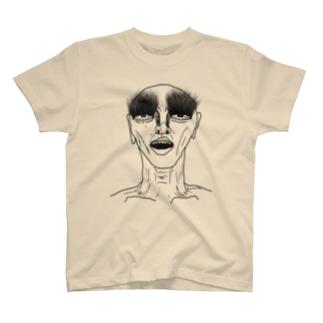 まつ毛長いおっさん T-shirts