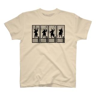 徳川四天王×仏教四天王 T-shirts
