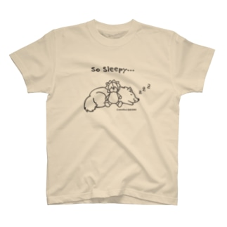 So Sleepy 眠たいワンコ T-shirts