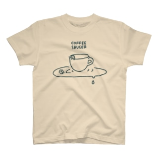 COFFEE SAUCER T-shirts