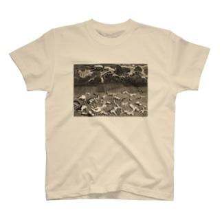 旧約聖書「創世記」の大洪水 - Getty Search Gateway T-shirts