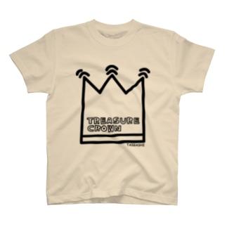 宝冠(観音さん、菩薩さんがかぶる冠むり) T-shirts