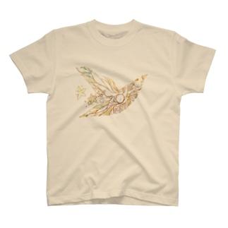 風切羽 T-shirts