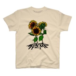 ヒヲムクヒカリ T-shirts