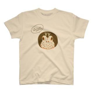 hitohana モンツキカエルウオ T-shirts
