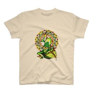 mandara × frog T-shirts