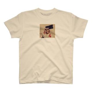ピストルと4 T-shirts