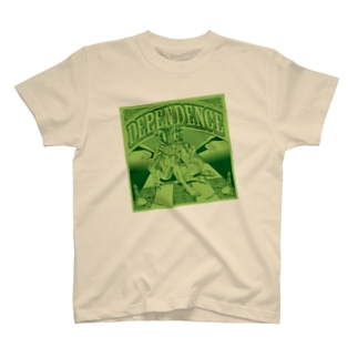 Dependence グリーン T-shirts