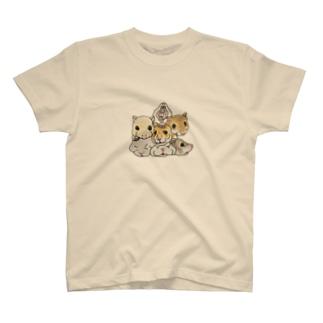 てんこ盛りハムスター T-shirts