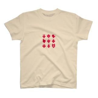 カレミニョン9レッド T-shirts