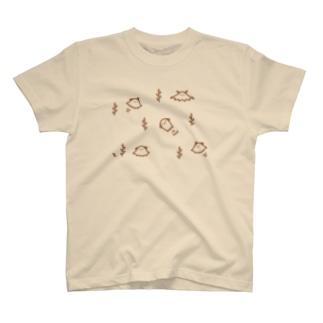 メンダコわらわら T-shirts
